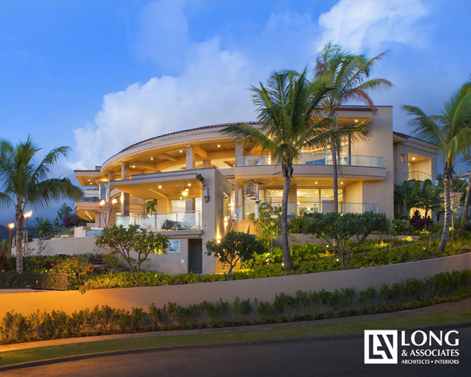 Residence at moaniala for Hawaii home design