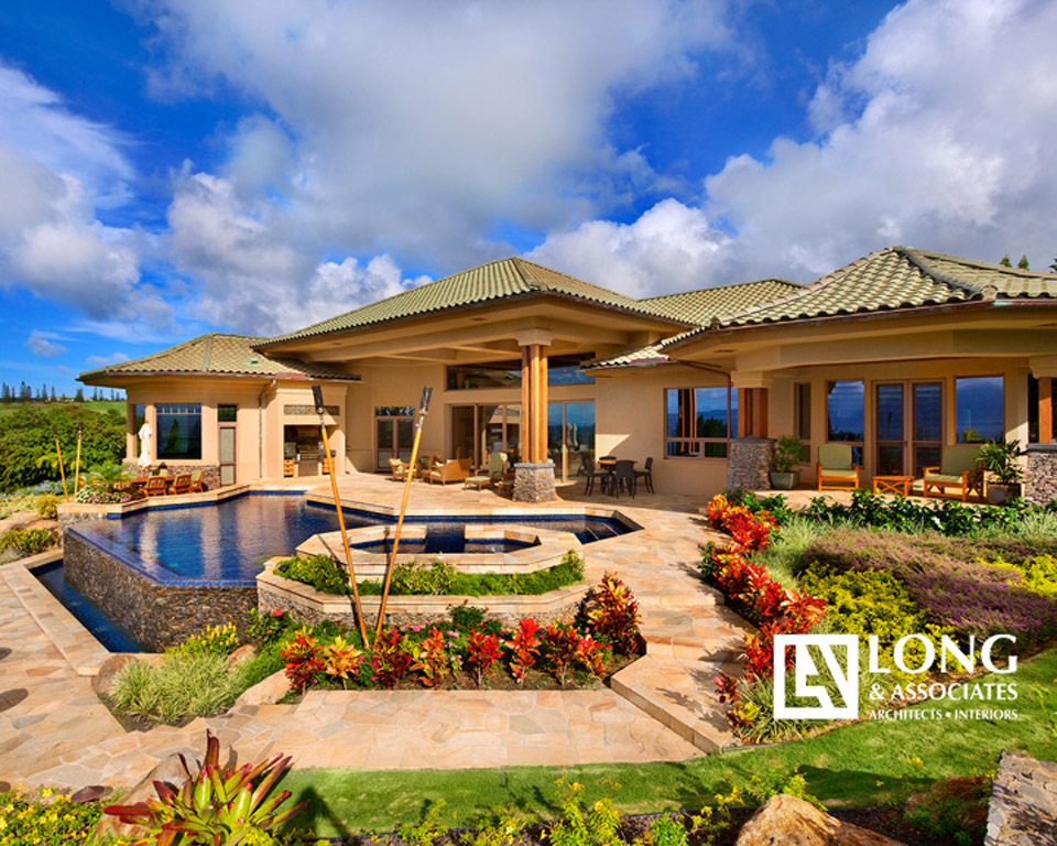 Plantation Estates   A Luxury Resort Home Designed By Our Architects In  Plantation Estates On Maui